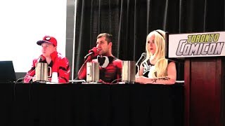 How to Combine Cosplay & Comedy | MELF & Sean Ward Show Panel at Toronto Comicon!