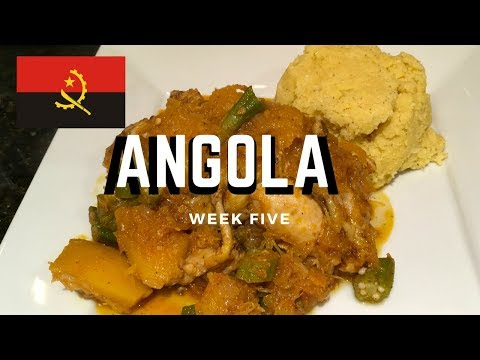Second Spin, Country 5: Angola [International Food]