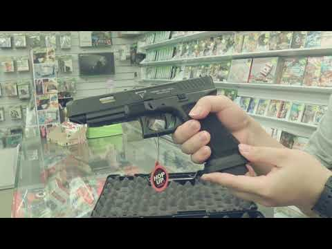捍衛任務2 約翰威客主角槍 奧地利 克拉克34 模型槍 版本 Minibook開箱