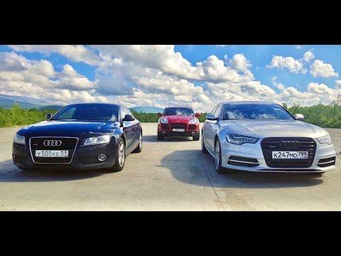 С Audi лучше не шутить. Cayenne Turbo S vs ДИЗЕЛЬ и КОМПРЕССОР.