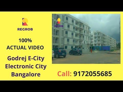 Godrej E- City Electronic City Bangalore Actual Video | Call 8688821292