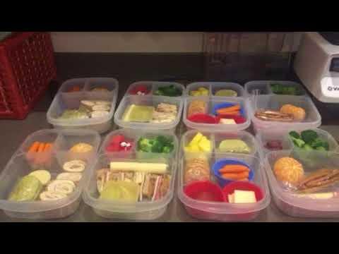 Healthy School Lunch Preps - by Mrs. Prepared 2 Thrive