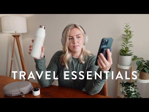 My 2021 Travel Essentials