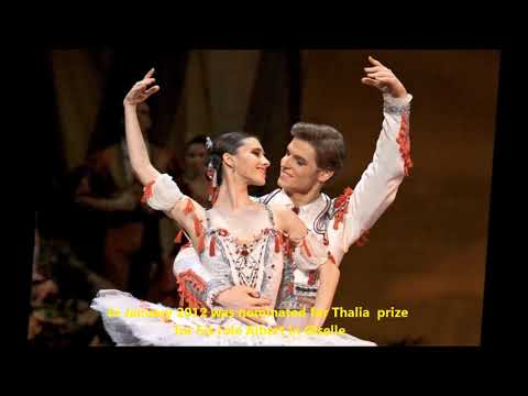 Michal Krcmar Principal dancer of FNB in interview for Czech radio