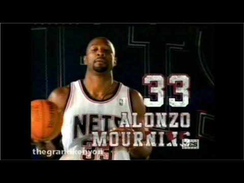 Alonzo Mourning 14 points, 12 rebounds & 3 blocks vs. Portland Trail Blazers (November 9, 2004)