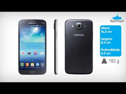Smartphone Samsung Galaxy Mega 5.8 Duos Preto - GSM | Submarino.com.br