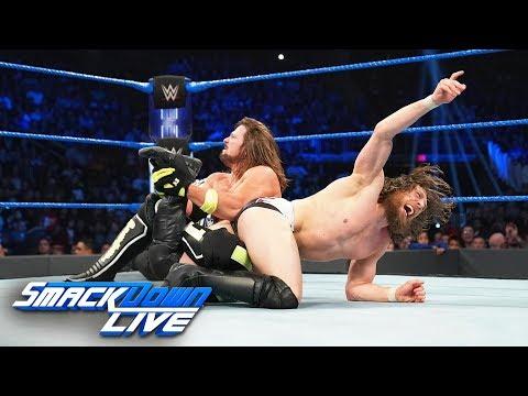 """AJ Styles & Mustafa Ali vs. """"The New"""" Daniel Bryan & Andrade Almas: SmackDown LIVE, Dec. 18, 2018"""