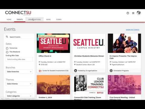 ConnectSU Club Page Administrator Training