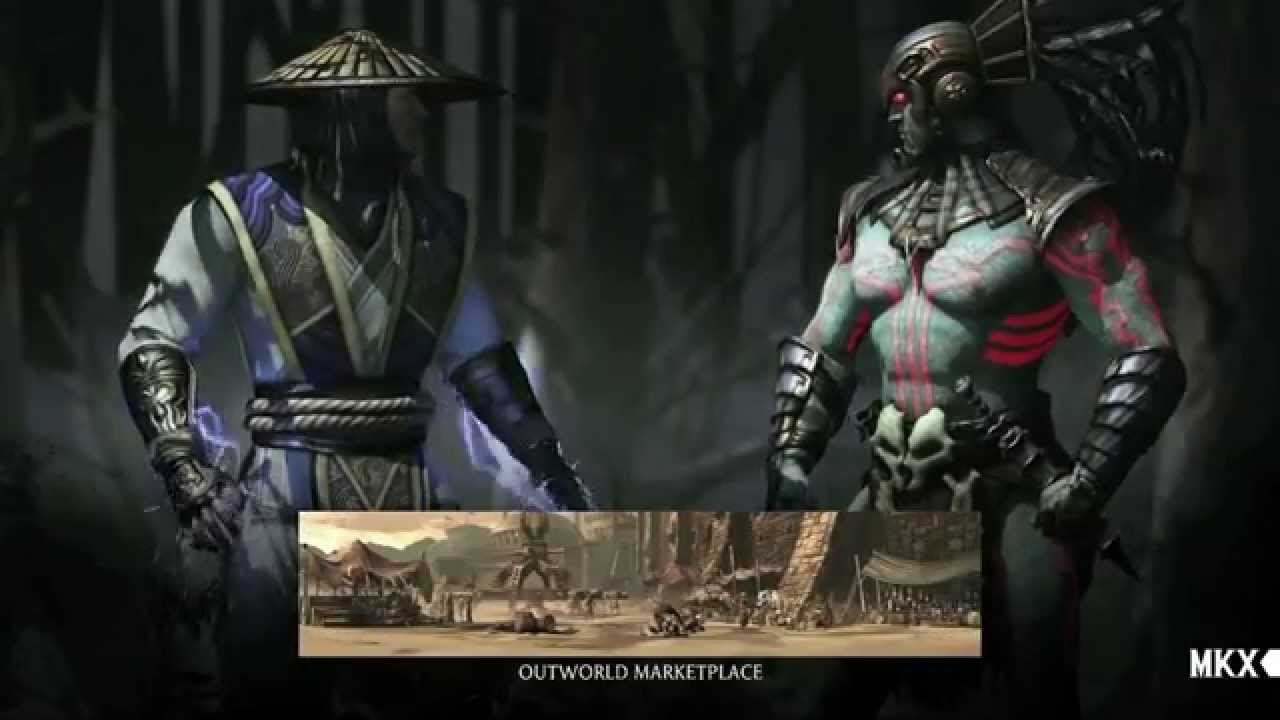 Mortal Kombat X (PS3, PS4) - Raiden vs Kotal Kahn