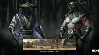 Mortal Kombat X (PS3, PS4) - Raiden vs Kotal Kahn