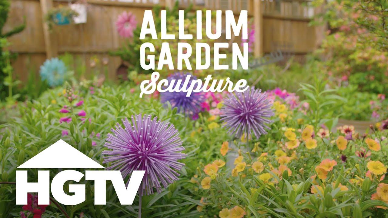 Charmant DIY Allium Garden Sculpture   Way To Grow   HGTV