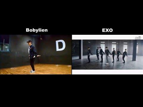 EXO call me baby dance tutorial 舞蹈教学详细分解