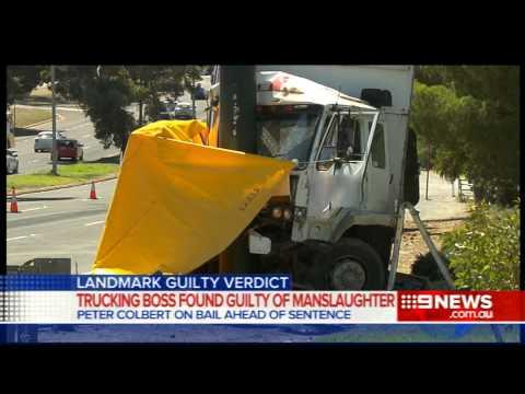 Truck Driver Sentence | 9 News Adelaide