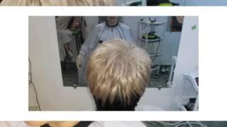 видео Покраска волос в два цвета