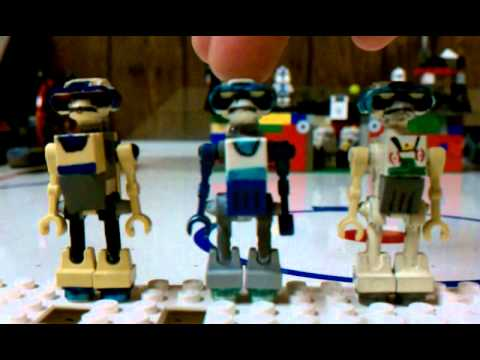 More Lego Custom Tactical Droids Youtube