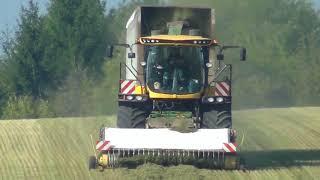 SUN DESHY : Gilles PRO SL 1200 à la récolte de la Luzerne