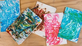 How to Make a Marbled Journal | Sunset