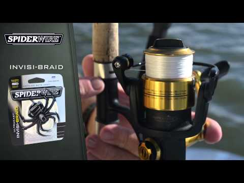 SpiderWire Product Video – Ultracast Ultimate-Braid & Invisi-Braid