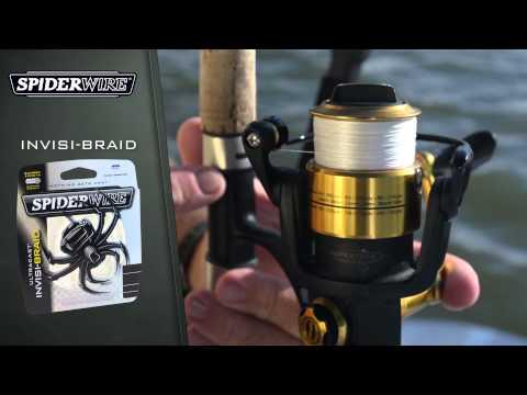 SpiderWire Product Video - Ultracast Ultimate-Braid & Invisi-Braid