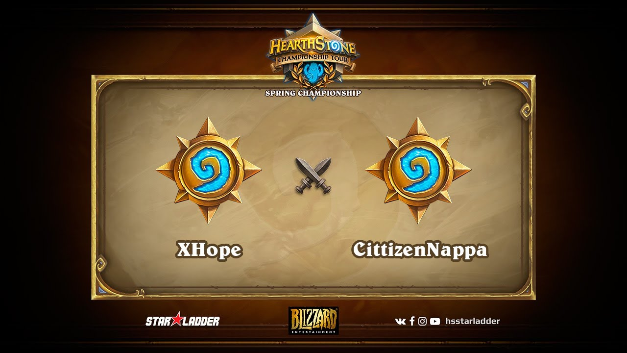 XHope vs CittizenNappa, Hearthstone Championship Tour Spring 2017