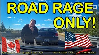 BEST OF ROAD RAGE | Mad Drivers, Brake Check, Instant Karma, Crashes, Karens on Dashcam USA | Canada