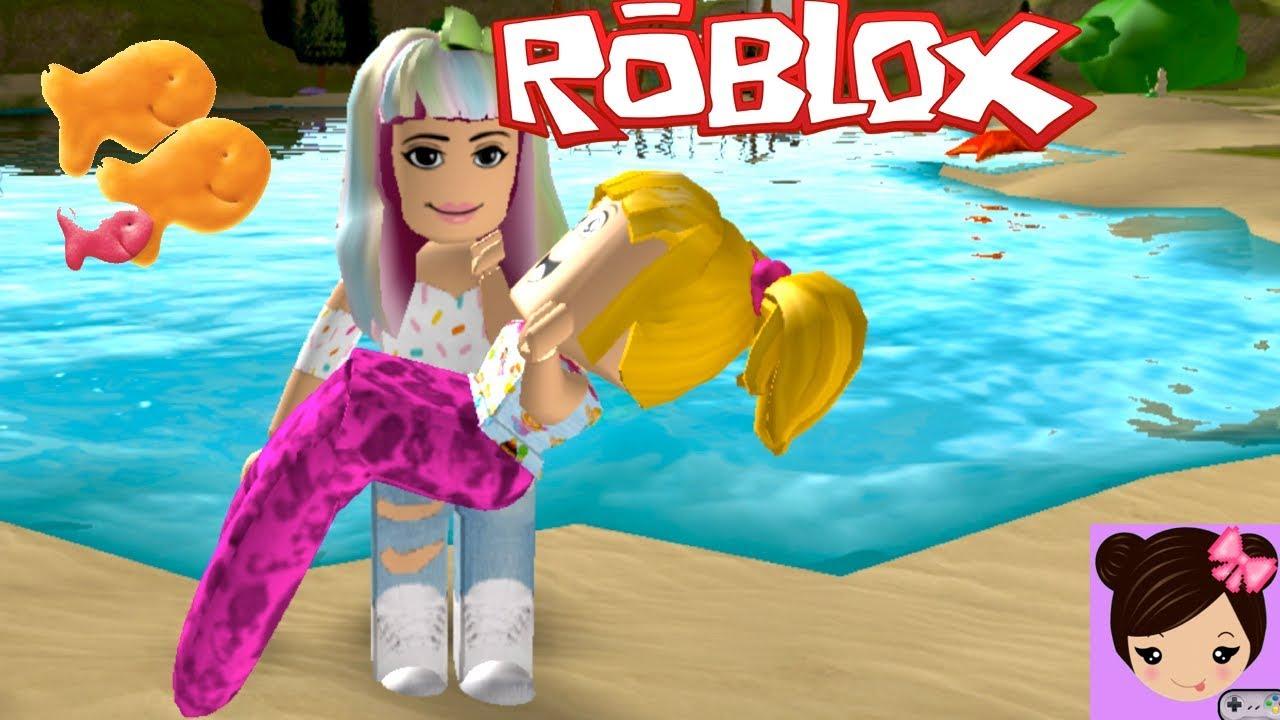 Roblox Adopt Me Roleplay Goldie Is A Mermaid Titi Games