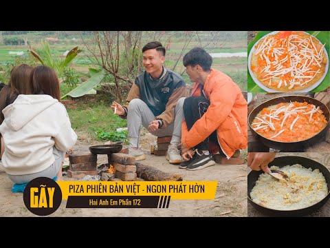 PIZA PHIÊN BẢN VIỆT - NGON PHÁT HỜN | Hai Anh Em Phần 172 | Phim Học Đường Hài Hước Hay Nhất Gãy TV