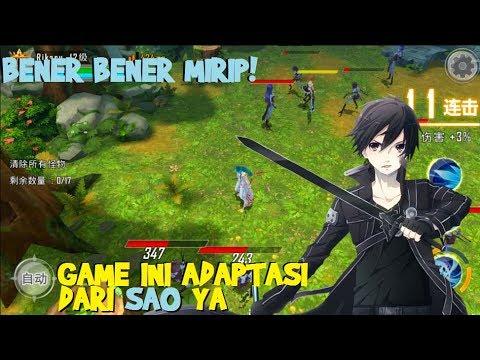COBA INI GAME YANG MIRIP BANGET SAMA Sword Art Online SAO PROJECT T