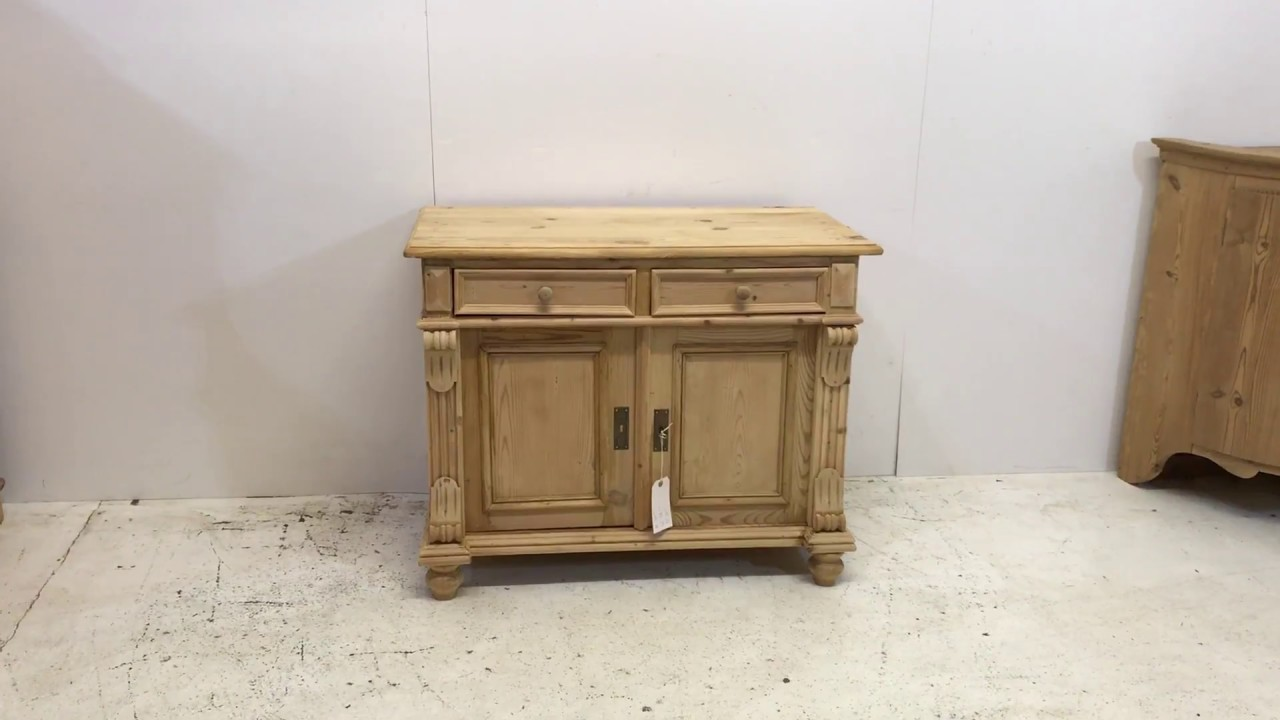 Small Antique Pine Cupboard for sale - Pinefinders Old Pine Furniture  Warehouse - Small Antique Pine Cupboard For Sale - Pinefinders Old Pine