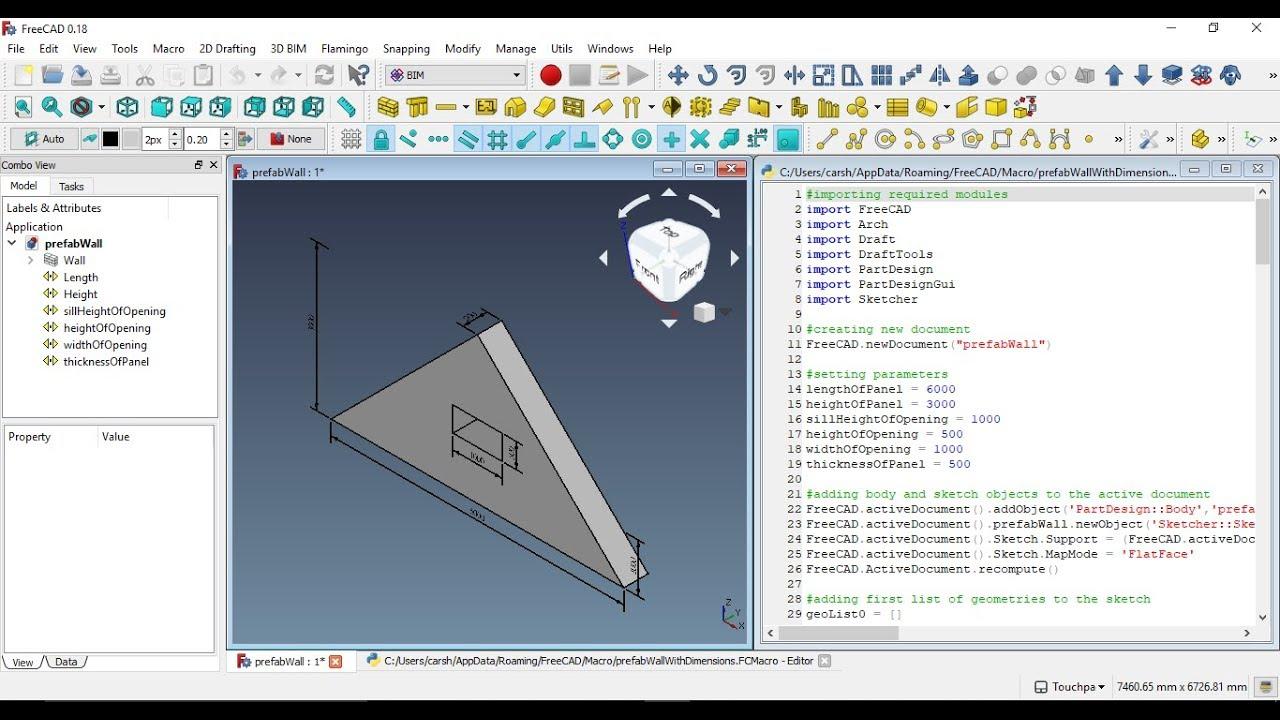 Automated Dimensioning in FreeCAD – Python – Eklavya Self