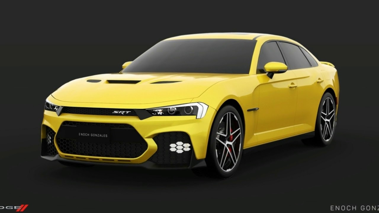2019 Dodge Challenger Hellcat >> Here S A Take On The Facelifted 2019 Dodge Charger Srt Hellcat