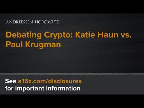 Debating Crypto: Katie Haun vs. Paul Krugman