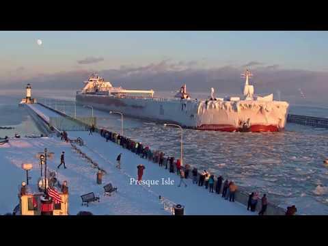 Presque Isle arrived Duluth 12/31/2017