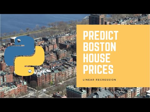 Predict Boston House Prices Using Python & Linear Regression