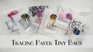 Tracing Paper Bags for Junk Journal with Sealing Wax ♡ Maremi's Small Art ♡