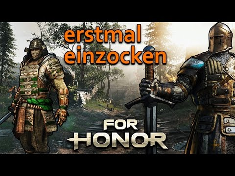 For Honor Gameplay German #23 - erstmal einzocken - Lets Play For Honor
