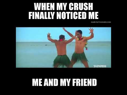 New Crush Love Funny Whatsapp Status Meme Hindi Youtube Funny bollywood hindi songs misheard lyrics #2 (try not to laugh challenge) bollywood funny indian song dank memes #10veepasslonda instagram instagram.com/10veepasslonda khali bali song funny mix version #2   bollywood songs funny mix versions (bom diggy, khali bali) this. new crush love funny whatsapp status