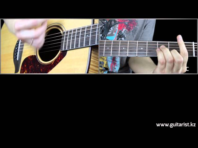 No Doubt - Don`t Speak guitar lesson (????? ???? ?? ?????? Guitarist.kz)