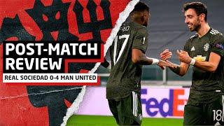 RASHFORD MASTERCLASS! | Real Sociedad 0-4 Manchester United | Post-Match Review