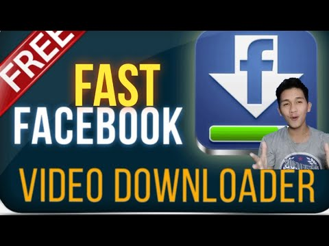 Fast Facebook Video Downloader App 2020 Tutorial Tagalog Tutorial 2020