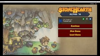 Little Game Rabbit - Tutorial StoneHearth Basics - How to get started