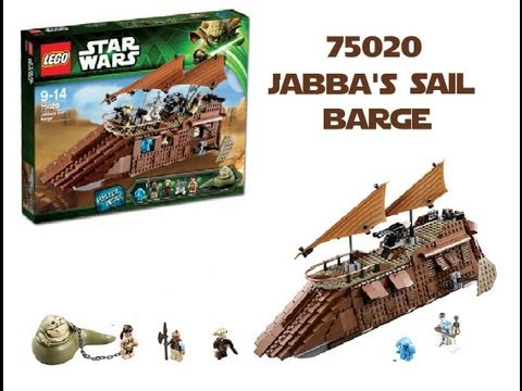 LEGO Star Wars 75020 Jabba's Sail Barge™ Review