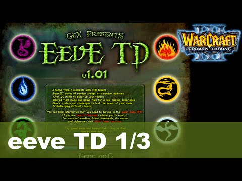 Warcraft 3 Funmaps - eeve TD 1/3 - Let's Play [Deutsch]