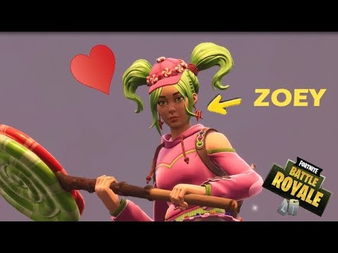 Zoey Meets Zoey | FORTNITE SAD MOMENTS