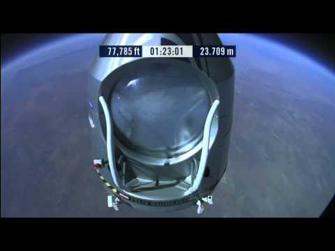 Felix Baumgartner Red Bull Stratos -Funny-