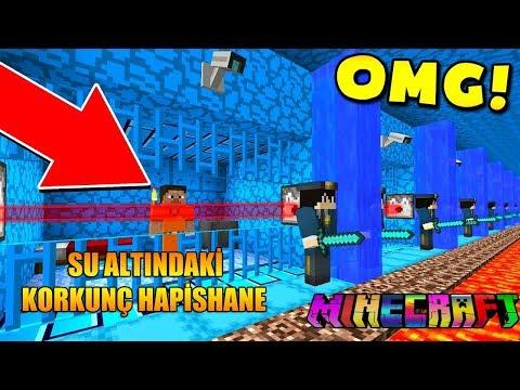 KORKUNÇ YER ALTI HAPİSHANESİNDEN KAÇIŞ! - Minecraft