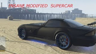 Insane Modified Super car !!! | Modified super cars | GTA 5 | Rizthegamer