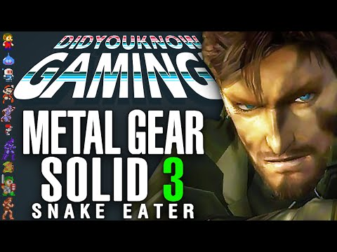 Metal Gear Solid 3 - Did You Know Gaming? Feat. Super Bunnyhop