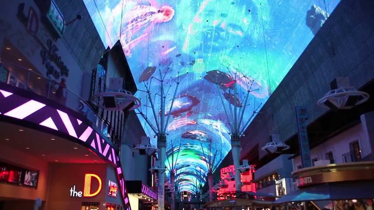 LAS VEGAS - Fremont Street Experience - Bon Jovi - YouTube