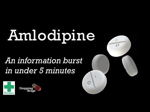 Amlodipine information burst